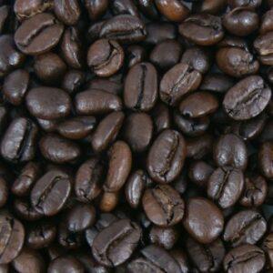 Vette koffiebonen