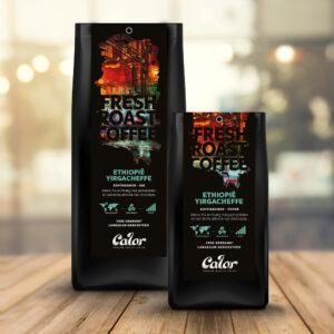 calor ethiopië yirgacheffe single origin koffiebonen